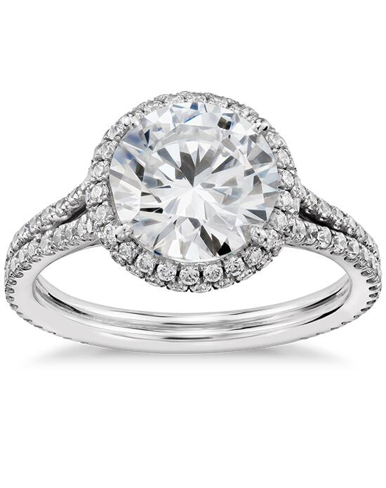 Truly Zac Posen Cambridge Halo Diamond Engagement Ring  Engagement Ring photo