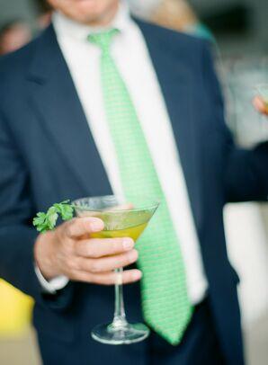 Fun, Green Specialty Drink