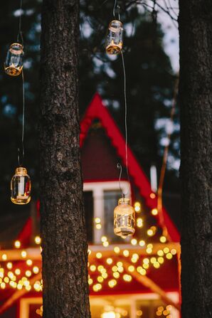Hanging Reception Candles