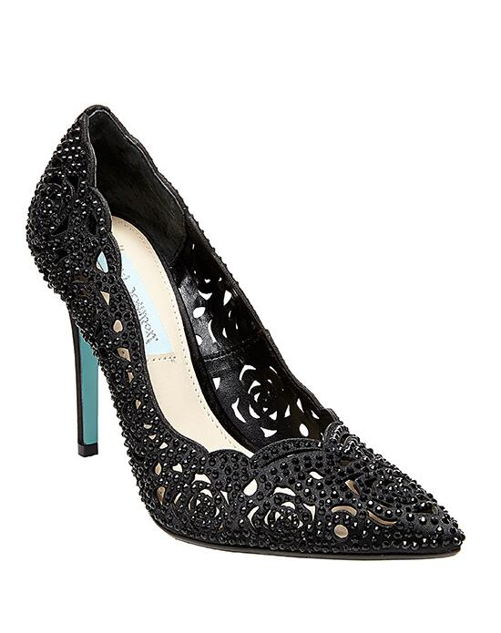 Blue by Betsey Johnson SB-ELSA-black Wedding Shoes photo