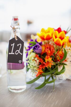 Local Summer Floral Centerpieces