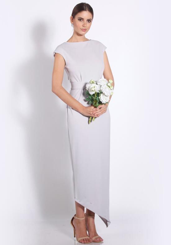 White Runway Celina Dress Bridesmaid Dress photo