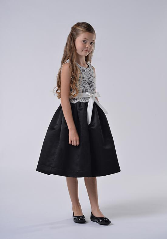 Us Angels Beautiful Color The Azalea Dress-105_black Flower Girl Dress photo
