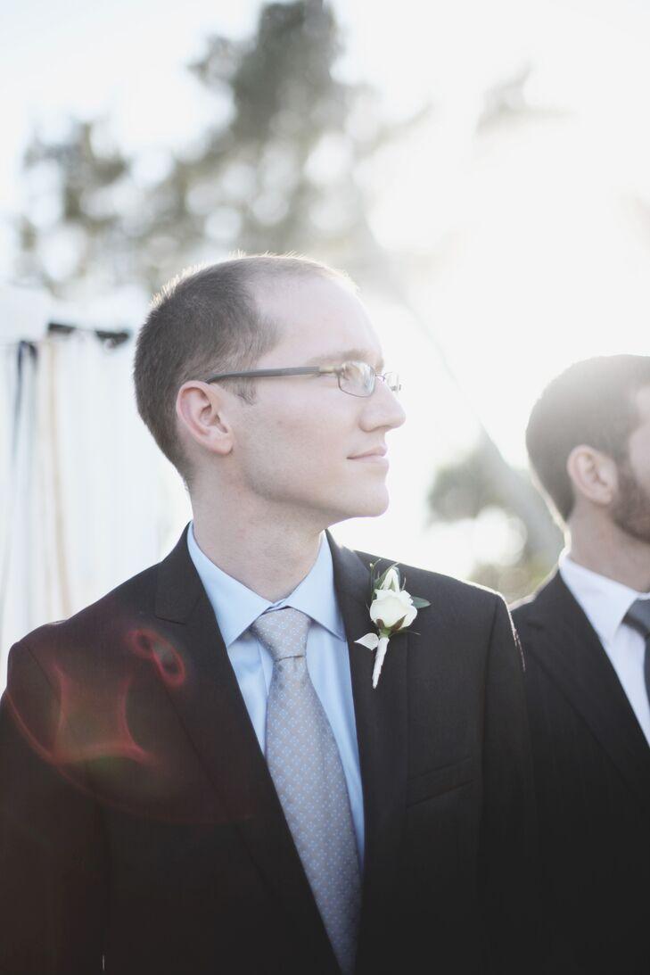Charcoal Gray Wedding Suit