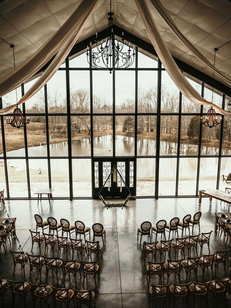 Farm wedding venue in Crofton, Kentucky.