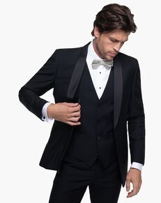 Generation Tux Black Shawl Lapel Tuxedo Black Tuxedo