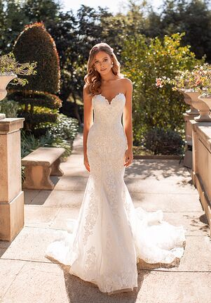 Val Stefani LUX Mermaid Wedding Dress