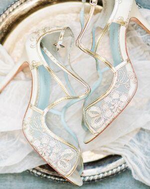 Bella Belle TESS Gold Shoe
