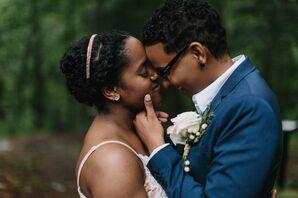 Same-Sex Brides at Georgia Elopement