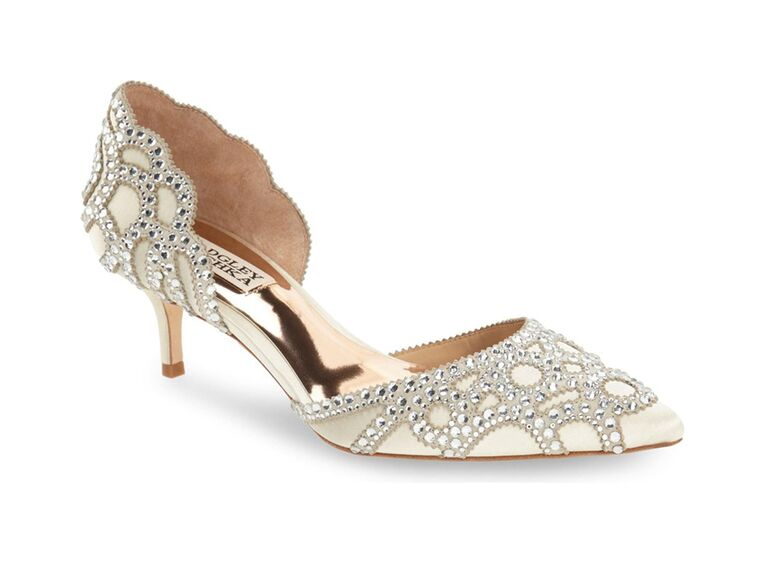 nordstrom badgley mischka jeweled mother of the groom pump with pointed toe