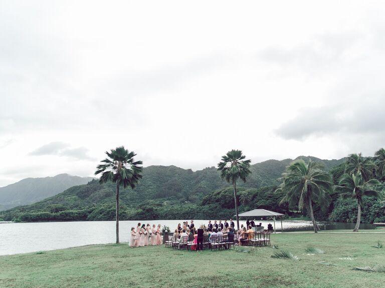 Outdoor Wedding Venues Kualoa Ranch