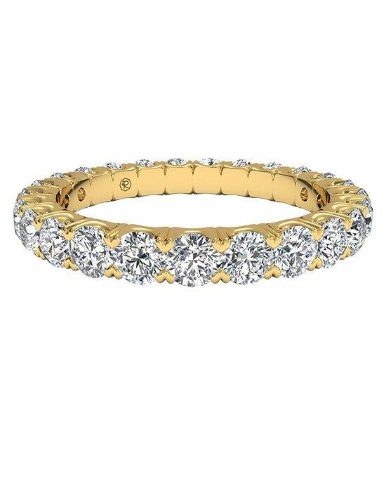 Ritani Women's Shared-Prong Diamond Wedding Band in 18kt Yellow Gold (1.25 CTW) Wedding Ring photo
