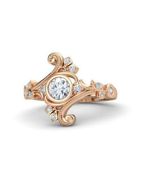 Gemvara - Customized Engagement Rings Flamenco Ring Engagement Ring photo