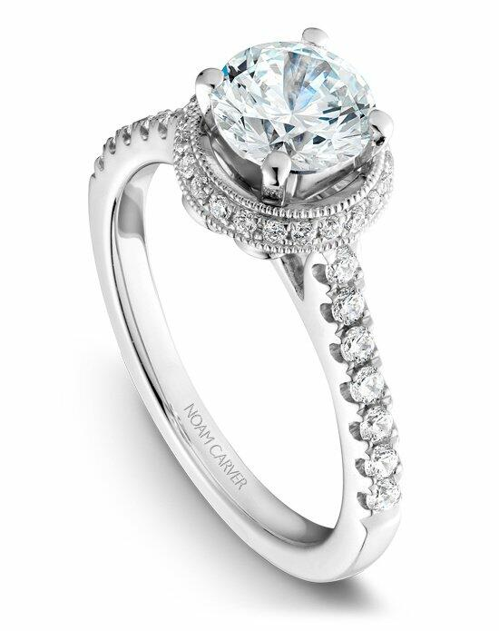 Noam Carver B082-01WS-100A Engagement Ring photo