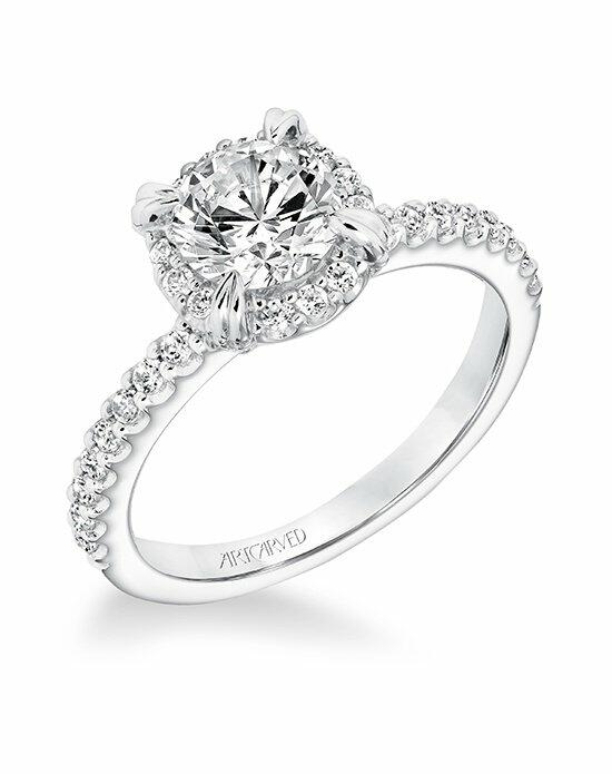 ArtCarved 31-V645ERW-E Engagement Ring photo