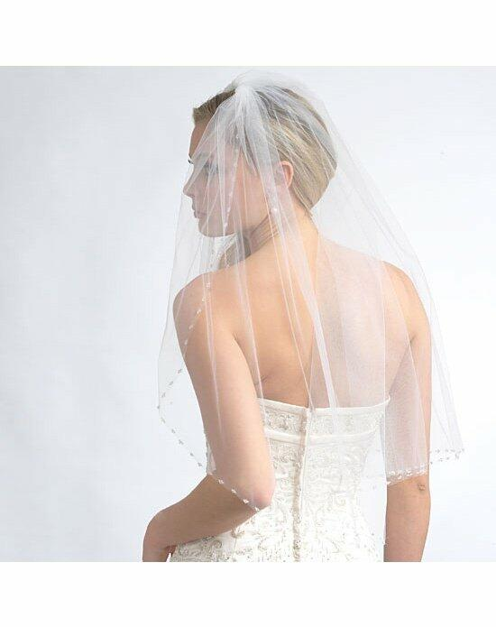USABride 1 Layer, Delicate Swarovski Crystal Beaded Veil VB-5014 Wedding Veils photo