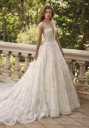 Demetrios DP460 Ball Gown Wedding Dress