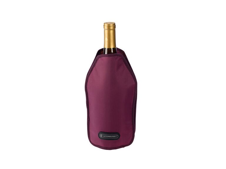 Wine insulator sleeve gift for boyfriend/girlfriend's parents