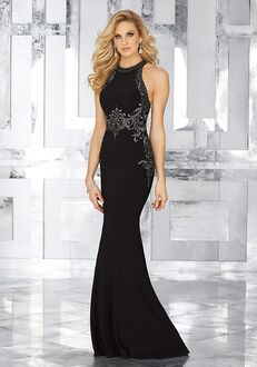 MGNY 71625 Black,Purple Mother Of The Bride Dress