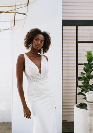 Essense of Australia D3254 Sheath Wedding Dress