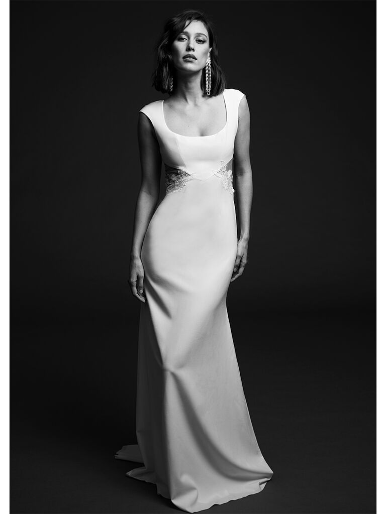 Rime Arodaky fitted dress with open back