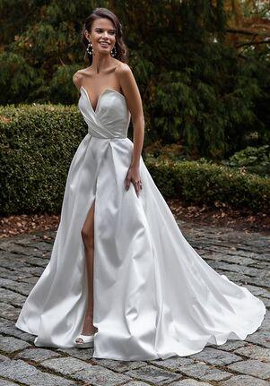 Maison Signore for Kleinfeld Aida-Mikado Wedding Dress