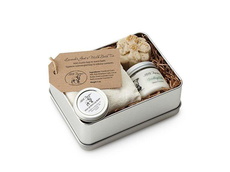 Farm fresh spa gift set