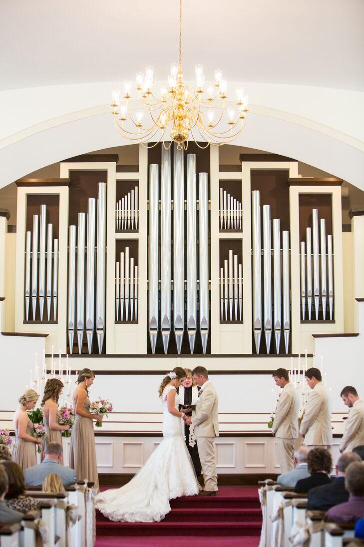 University Congregational Church Wedding Ceremony