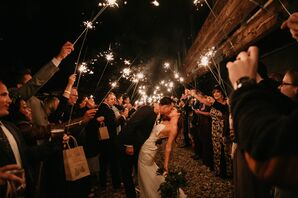 Classic Exit with Sparklers at Basecamp Hotel South Lake Tahoe