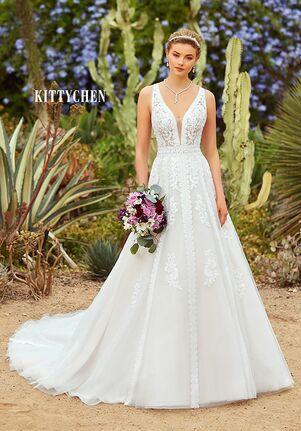 KITTYCHEN KENYA, H1931 A-Line Wedding Dress