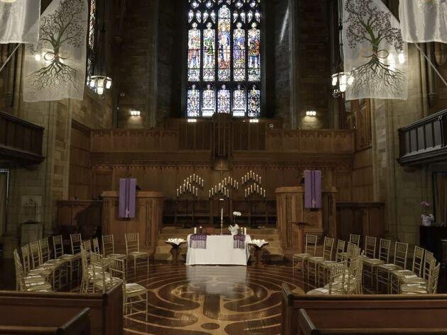 Wedding venue in Montclair, New Jersey.