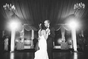 White Allure Bridals Wedding Dress With Sequins