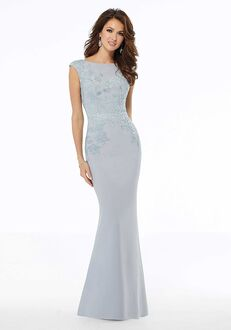 MGNY 72109 Black,Silver Mother Of The Bride Dress