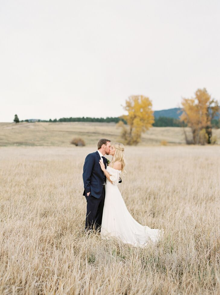 """Sarah advises other couples keep a healthy perspective on their wedding day. """"Don't spend a fortune on your wedding,"""" Sarah says. """"Make it memorable, but don't let it become something bigger than your life or your relationship."""""""