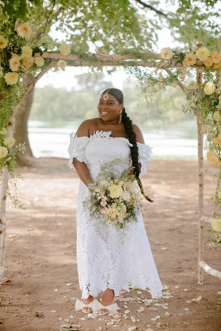 Bridal Portrait at Prospect Park in Brooklyn
