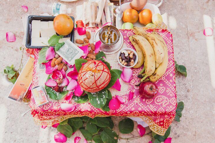 Symbolic Fruits, Nuts and Kalasha