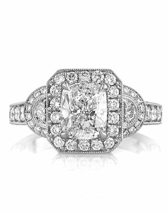 Mark Broumand 3.10ct Cushion Cut Diamond Engagement Ring Engagement Ring photo
