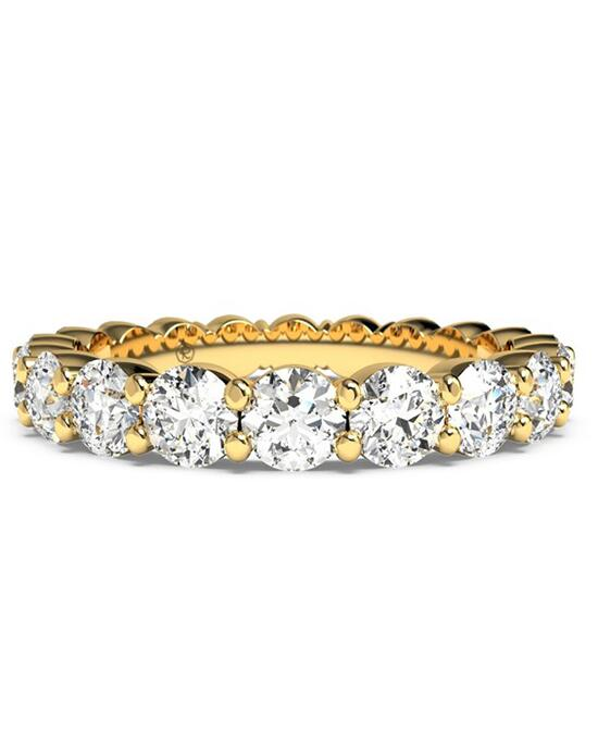 Ritani Women's Slim Round-Cut Diamond Prong-Set Eternity Band - in 18kt Yellow Gold - (2.10 CTW) Wedding Ring photo