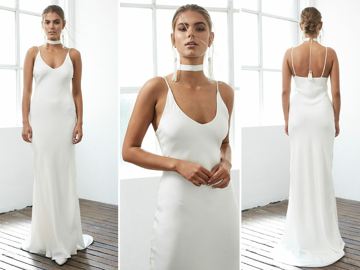 The Most Pinned Wedding Dress Designer Has Another Hit