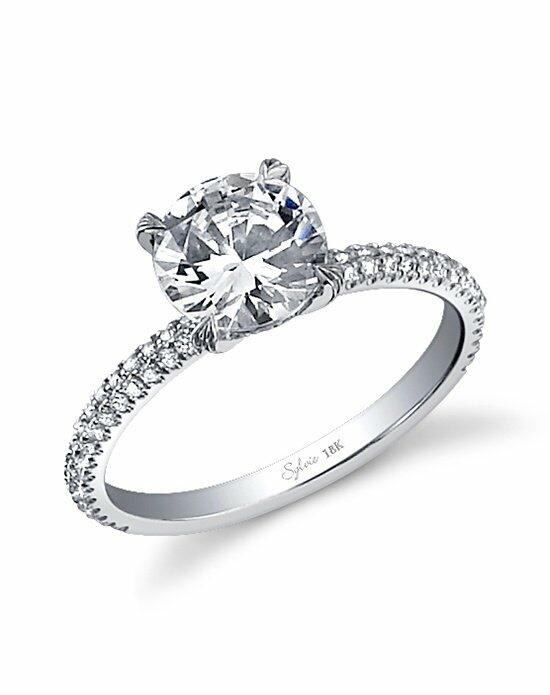 Sylvie Collection SY380 Engagement Ring photo