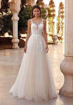 Demetrios 1080 A-Line Wedding Dress