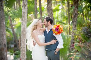 Casual Groom Vest and Pants Suit for Beach Wedding