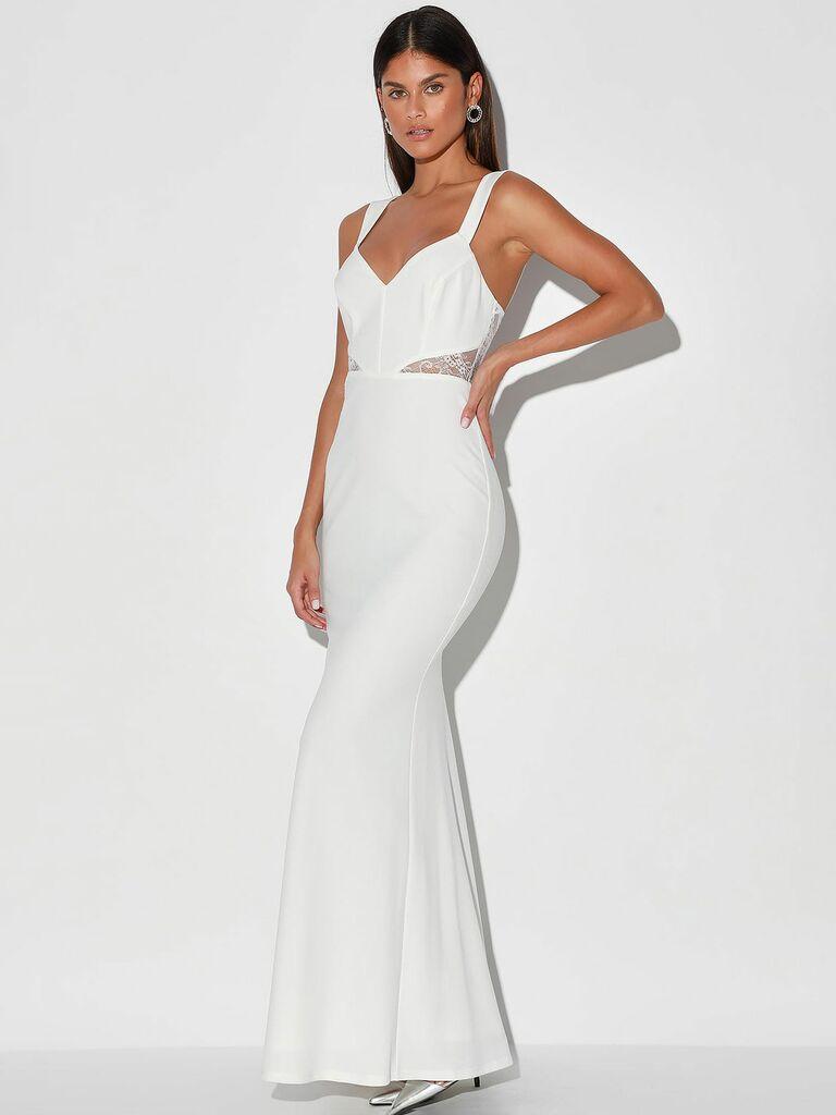 Lulus reception dress