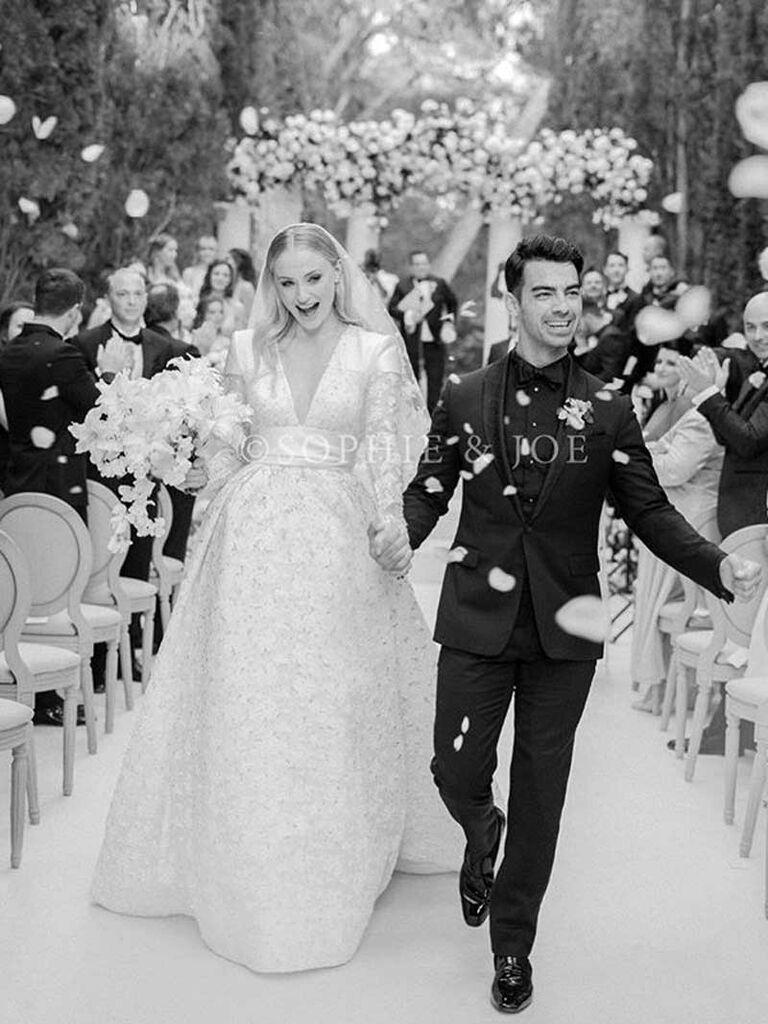 Joe Jonas and Sophie Turner wedding day