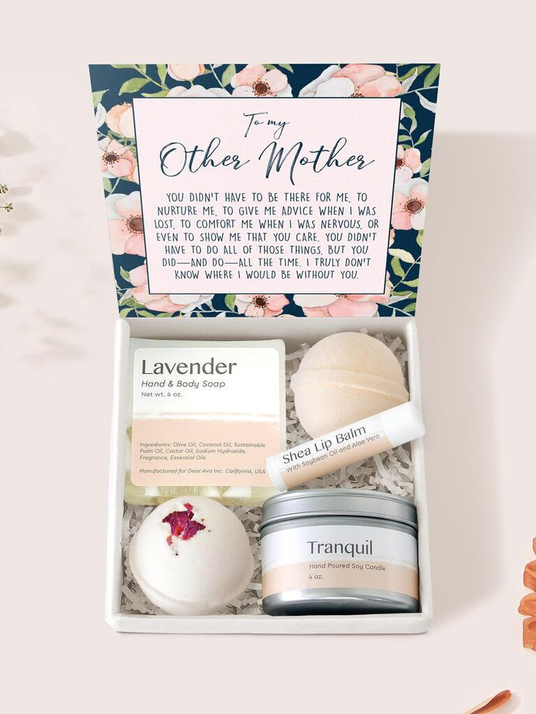 Spa gift box for mother-in-law
