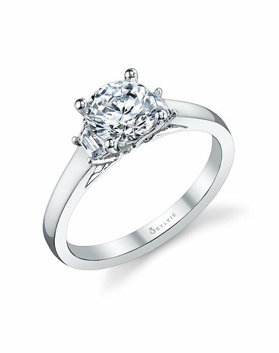Sylvie Collection S1095S Engagement Ring photo