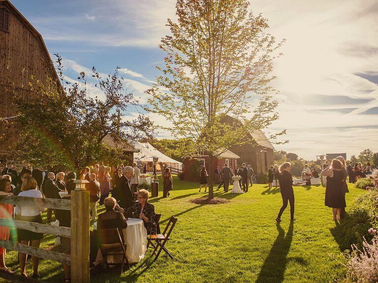 Outdoor Wedding Venues Misty Farm