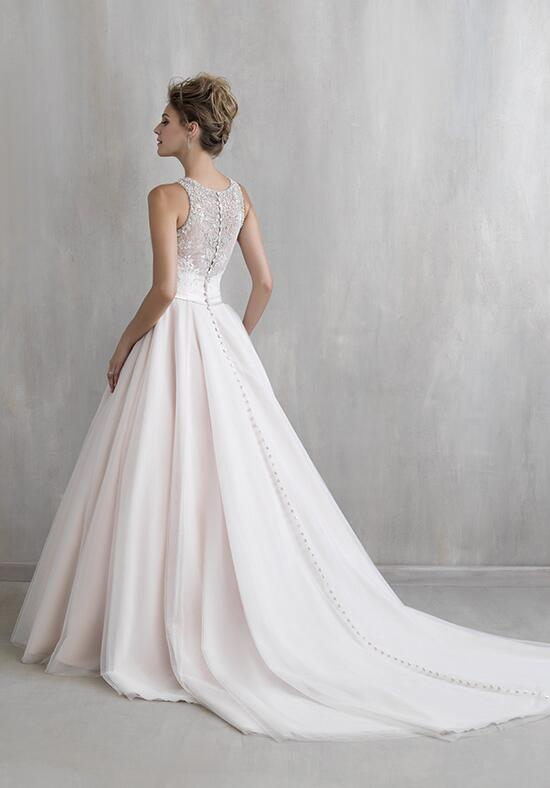 Madison james mj219 wedding dress the knot for Madison james wedding dresses