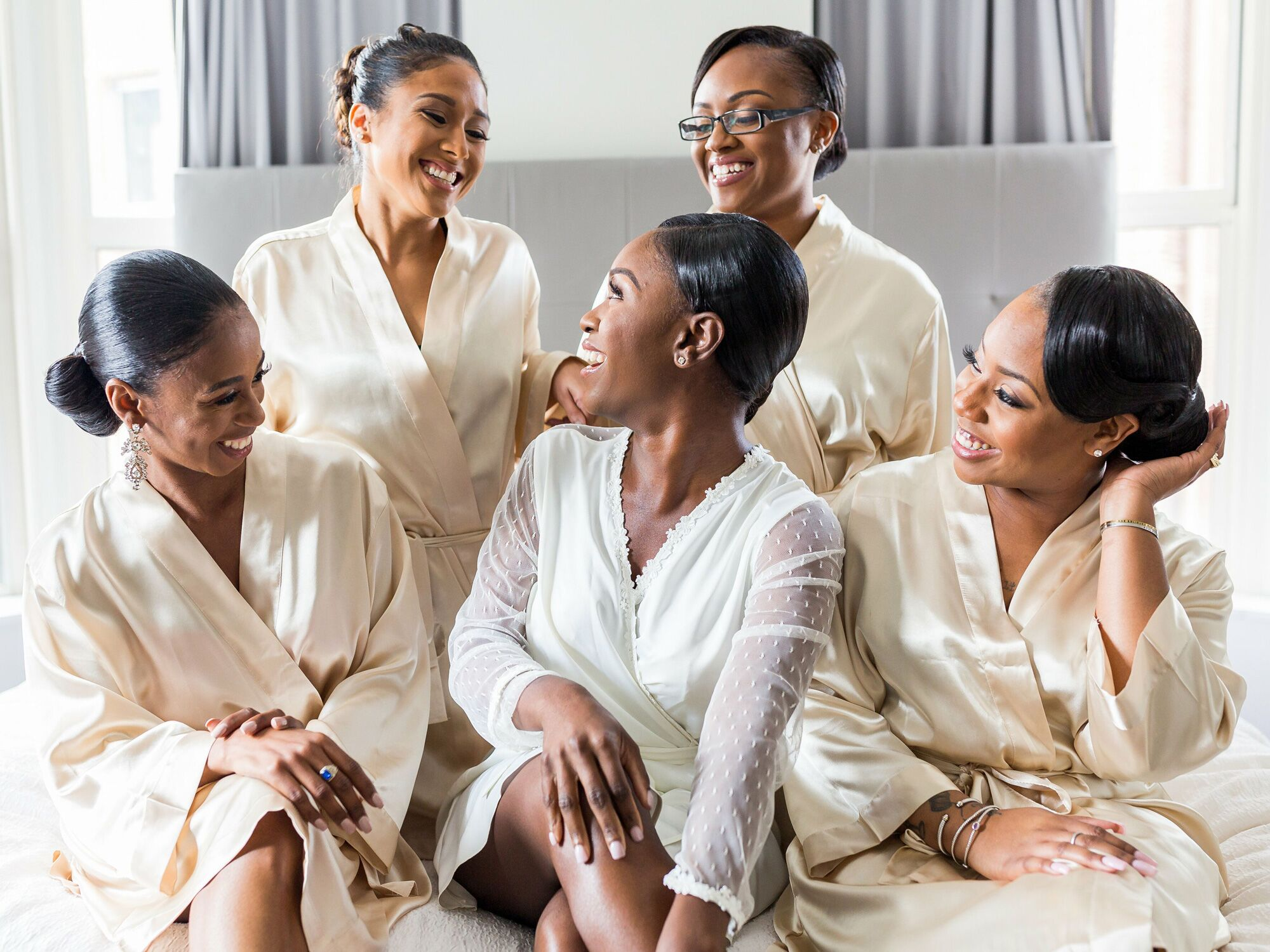 35 Bridal Robes You Ll Wear Way Past Your Wedding Day
