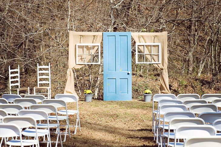 Kristy and Mark hoped to achieve a welcoming and homey vibe by incorporating meaningful vintage details throughout their decor.
